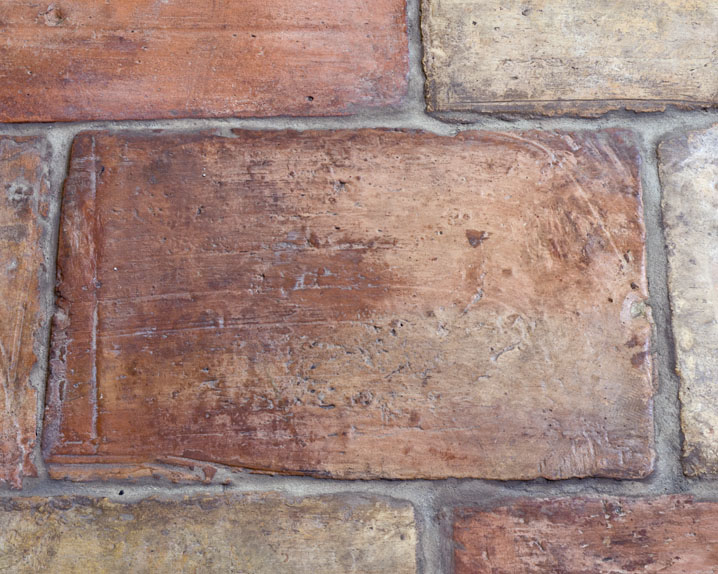 Reclaimed French Terra Cotta Parefeuille