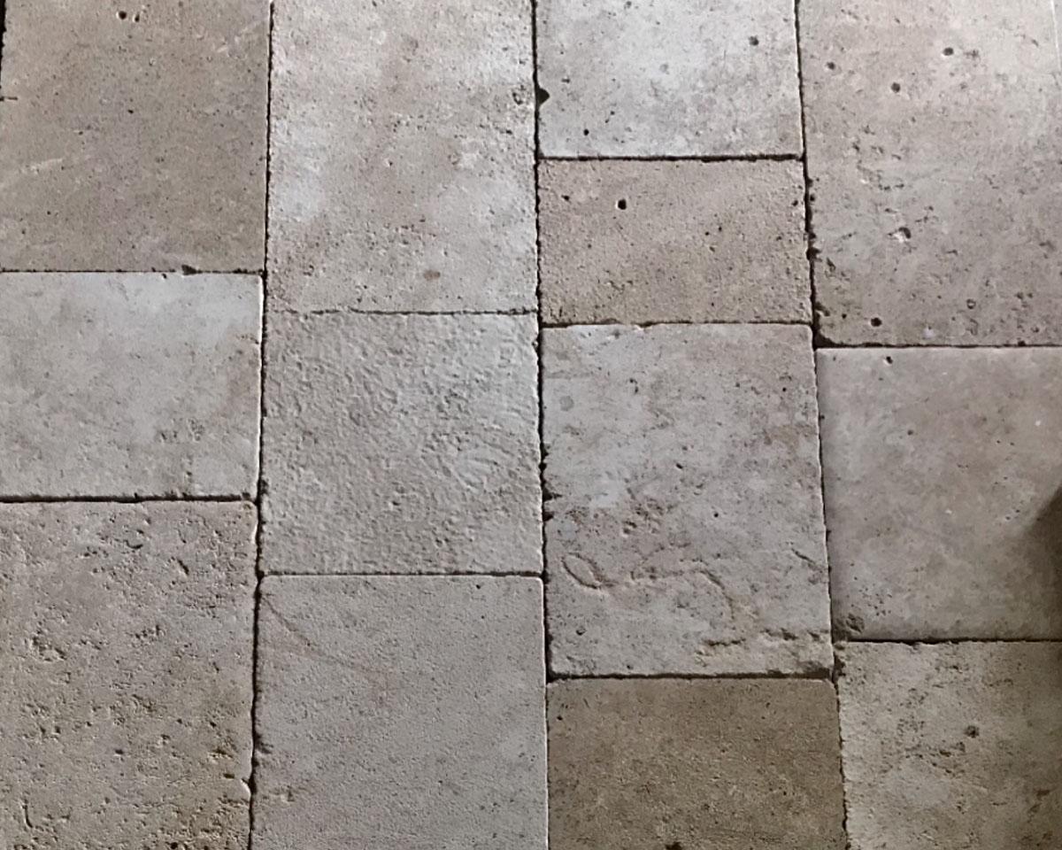 Antiqued French Bourgogne Limestone