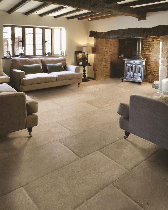 Dalle De Provence Antiqued Limestone