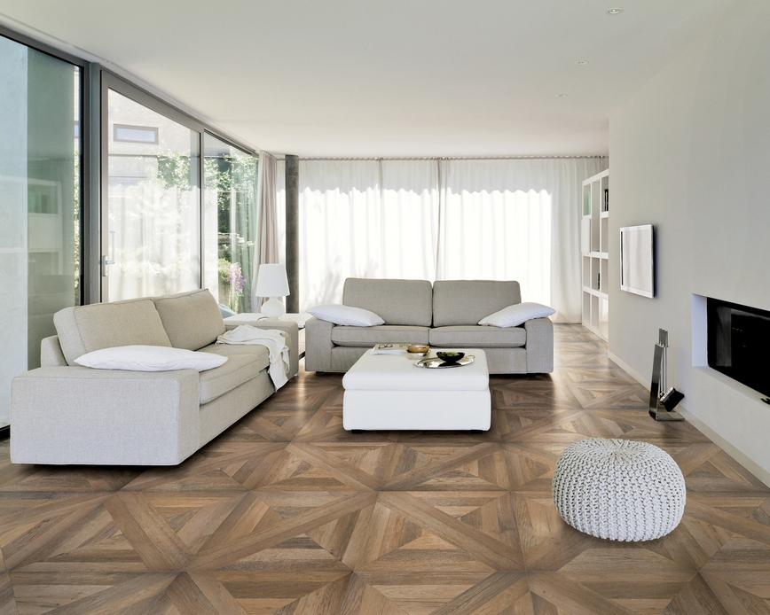 Porcelain Wood-look Parquet