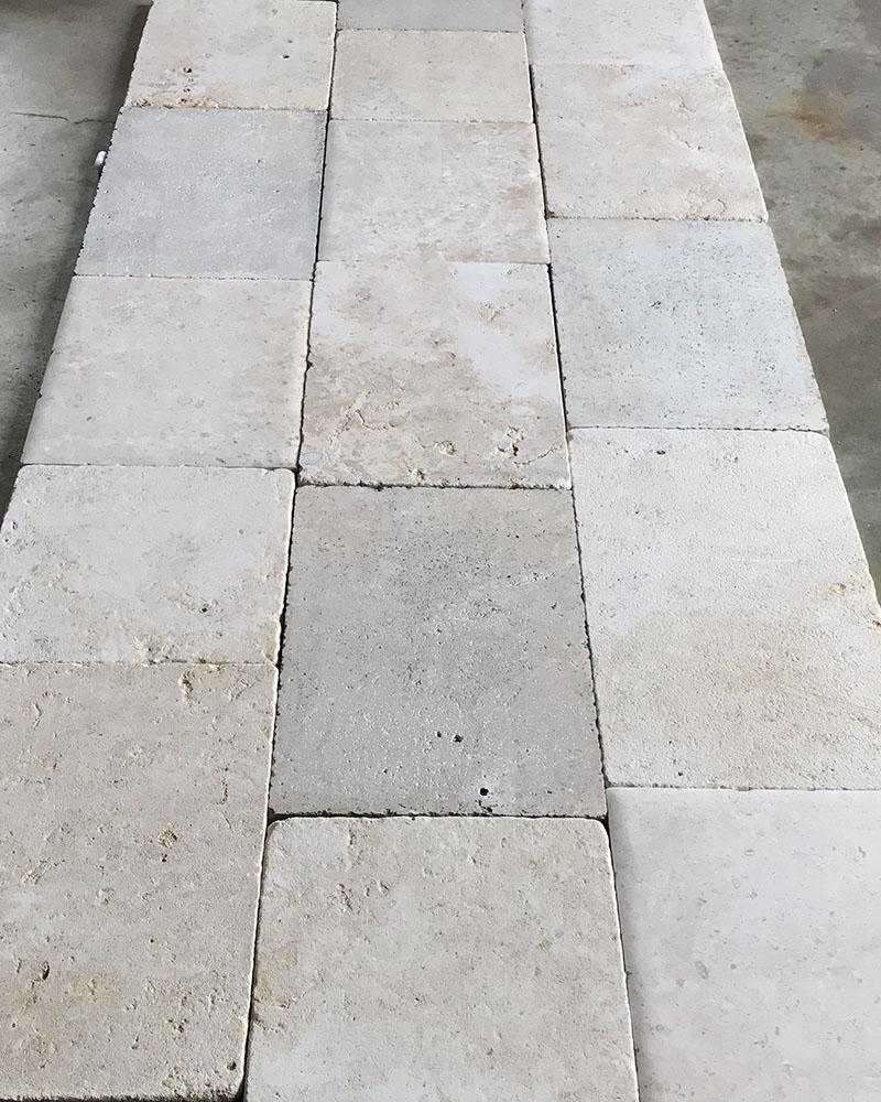 Antiqued Bourgogne Limestone