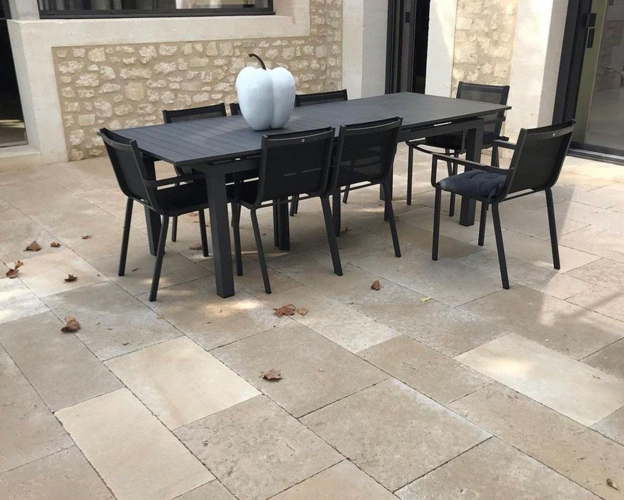 French limestone Clair - Jaune blend